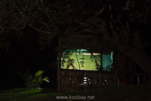 Bright solar powered lights, kosi bay